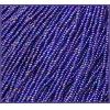 Seedbead 10/0 Opaque Royal Blue Aurora Borealis Strung